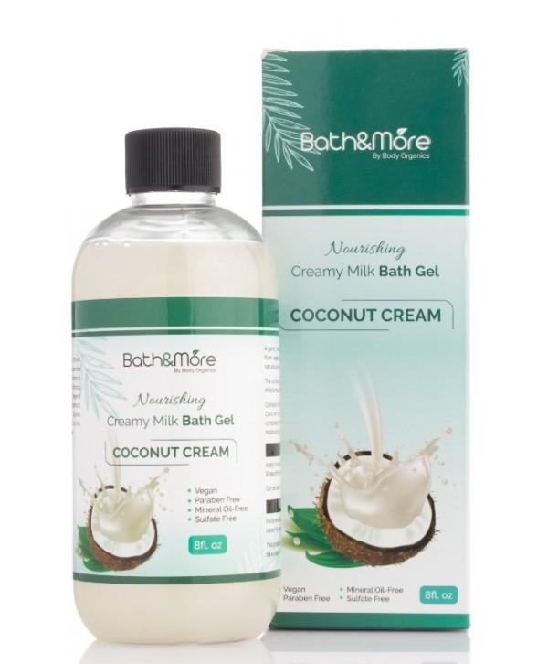 Bath and More Bath Gel (Coconut)