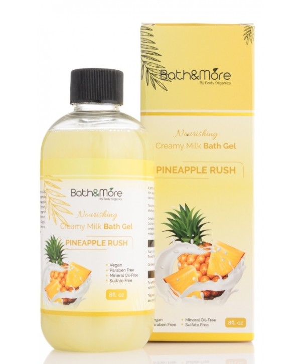 Bath and More Bath Gel (Pineapple Rush)
