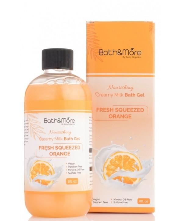 Bath and More Bath Gel(Orange)