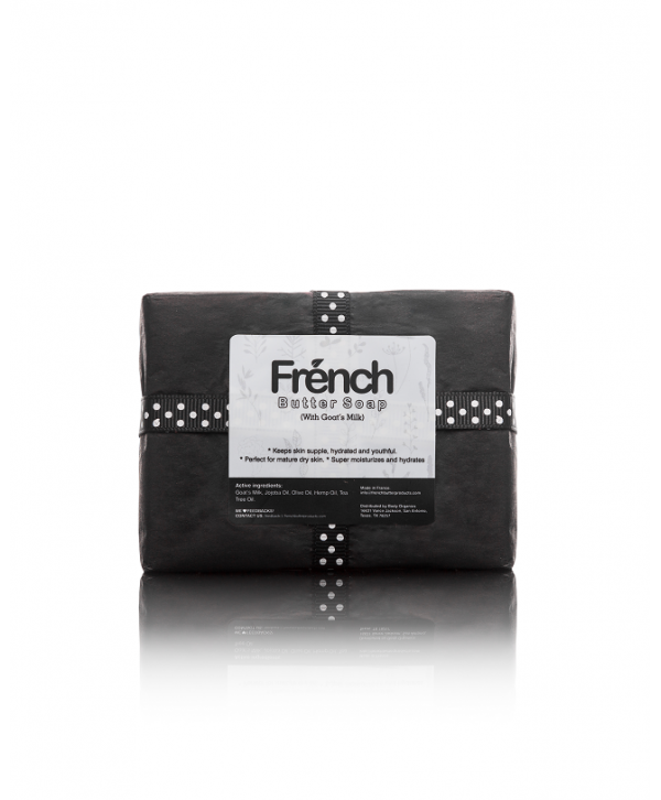 French Butter Soap with Goat's Milk/ Bar 150g